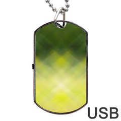 Background Textures Pattern Design Dog Tag Usb Flash (two Sides)
