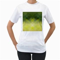 Background Textures Pattern Design Women s T Shirt (white)