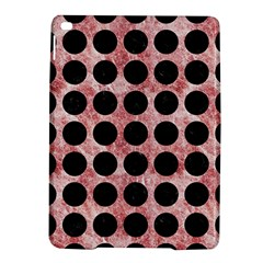 Circles1 Black Marble & Red & White Marble (r) Apple Ipad Air 2 Hardshell Case
