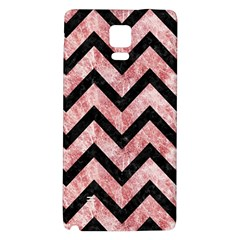 Chevron9 Black Marble & Red & White Marble (r) Samsung Note 4 Hardshell Back Case