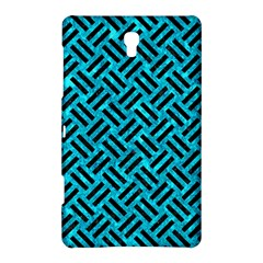 Woven2 Black Marble & Turquoise Marble (r) Samsung Galaxy Tab S (8 4 ) Hardshell Case