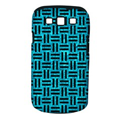Woven1 Black Marble & Turquoise Marble (r) Samsung Galaxy S Iii Classic Hardshell Case (pc+silicone)