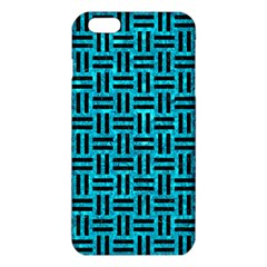 Woven1 Black Marble & Turquoise Marble (r) Iphone 6 Plus/6s Plus Tpu Case