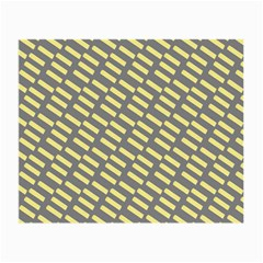 Yellow Washi Tape Tileable Small Glasses Cloth