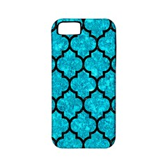 Tile1 Black Marble & Turquoise Marble (r) Apple Iphone 5 Classic Hardshell Case (pc+silicone)
