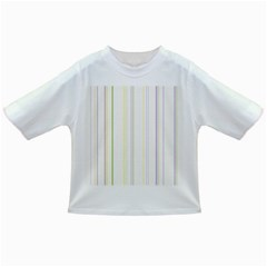 Line Yellow Purple Green Infant/toddler T Shirts