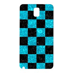 Square1 Black Marble & Turquoise Marble Samsung Galaxy Note 3 N9005 Hardshell Back Case