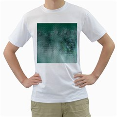 Background Texture Structure Men s T Shirt (white) (two Sided)