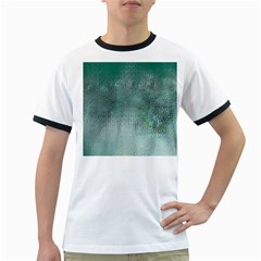 Background Texture Structure Ringer T Shirts