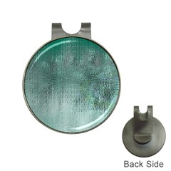Background Texture Structure Hat Clips with Golf Markers
