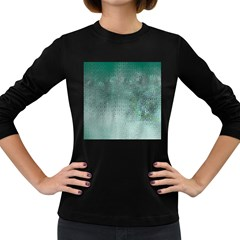 Background Texture Structure Women s Long Sleeve Dark T Shirts
