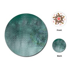 Background Texture Structure Playing Cards (round)
