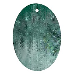 Background Texture Structure Oval Ornament (two Sides)