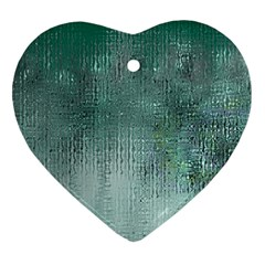 Background Texture Structure Heart Ornament (2 Sides)