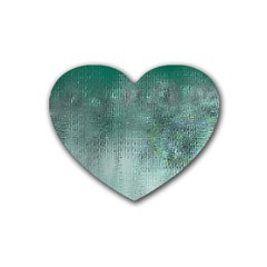 Background Texture Structure Heart Coaster (4 pack)