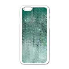 Background Texture Structure Apple Iphone 6/6s White Enamel Case