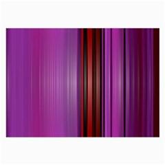 Purple Line Rainbow Large Glasses Cloth