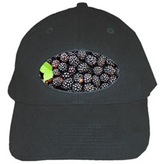 Blackberries Background Black Dark Black Cap