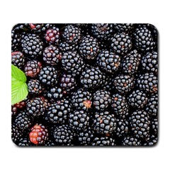 Blackberries Background Black Dark Large Mousepads