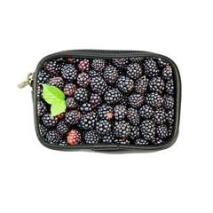 Blackberries Background Black Dark Coin Purse