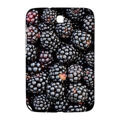 Blackberries Background Black Dark Samsung Galaxy Note 8 0 N5100 Hardshell Case