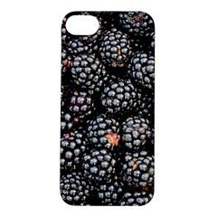 Blackberries Background Black Dark Apple Iphone 5s/ Se Hardshell Case