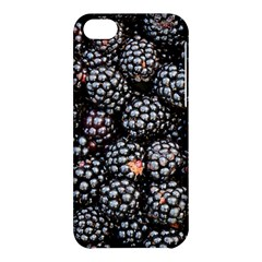 Blackberries Background Black Dark Apple Iphone 5c Hardshell Case