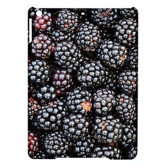 Blackberries Background Black Dark Ipad Air Hardshell Cases