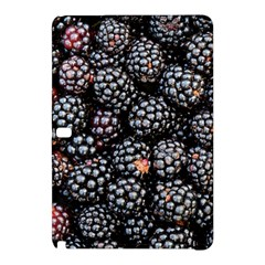 Blackberries Background Black Dark Samsung Galaxy Tab Pro 10.1 Hardshell Case