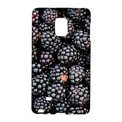 Blackberries Background Black Dark Galaxy Note Edge