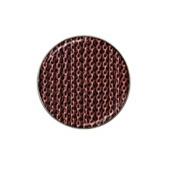 Chain Rusty Links Iron Metal Rust Hat Clip Ball Marker (10 Pack)