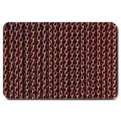 Chain Rusty Links Iron Metal Rust Large Doormat
