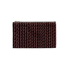Chain Rusty Links Iron Metal Rust Cosmetic Bag (small)