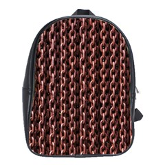 Chain Rusty Links Iron Metal Rust School Bags(large)