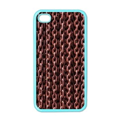 Chain Rusty Links Iron Metal Rust Apple Iphone 4 Case (color)