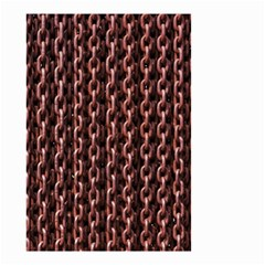 Chain Rusty Links Iron Metal Rust Small Garden Flag (two Sides)