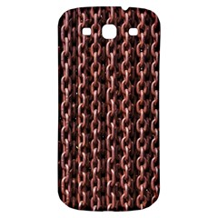 Chain Rusty Links Iron Metal Rust Samsung Galaxy S3 S Iii Classic Hardshell Back Case
