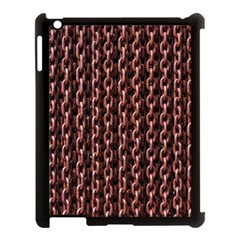 Chain Rusty Links Iron Metal Rust Apple Ipad 3/4 Case (black)
