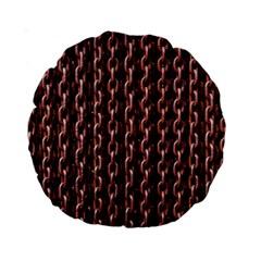 Chain Rusty Links Iron Metal Rust Standard 15  Premium Round Cushions