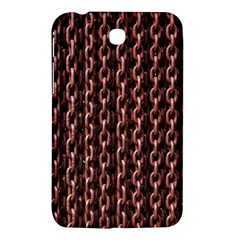 Chain Rusty Links Iron Metal Rust Samsung Galaxy Tab 3 (7 ) P3200 Hardshell Case