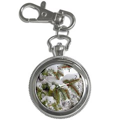 Brad Snow Winter White Green Key Chain Watches
