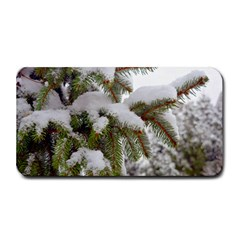 Brad Snow Winter White Green Medium Bar Mats