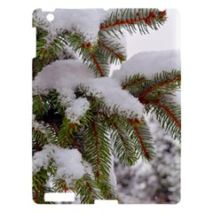 Brad Snow Winter White Green Apple Ipad 3/4 Hardshell Case