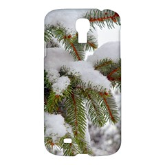 Brad Snow Winter White Green Samsung Galaxy S4 I9500/i9505 Hardshell Case