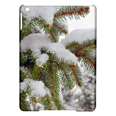 Brad Snow Winter White Green Ipad Air Hardshell Cases