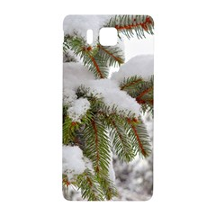 Brad Snow Winter White Green Samsung Galaxy Alpha Hardshell Back Case