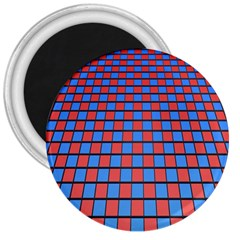 Red Blue 3  Magnets