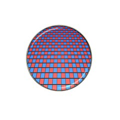 Red Blue Hat Clip Ball Marker