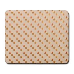 Christmas Wrapping Paper Large Mousepads