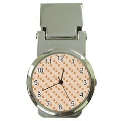 Christmas Wrapping Paper Money Clip Watches